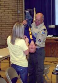CUB SCOUT UPSIDE DOWN