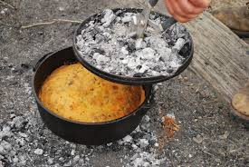 Dutch Oven Cooking Cake
