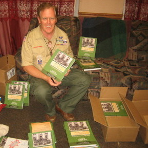 KEVIN AND LDS SCOUTING BOOKS