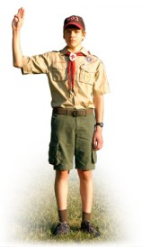 SCOUT IN UNIFORM