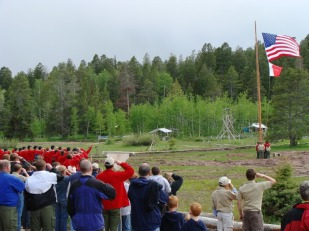 BARTLETT FLAG CEREMONY FROM WEB