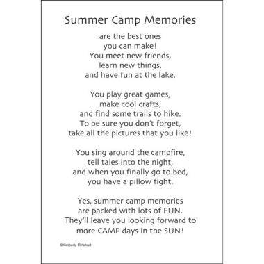 SCOUT CAMP MEMORIES