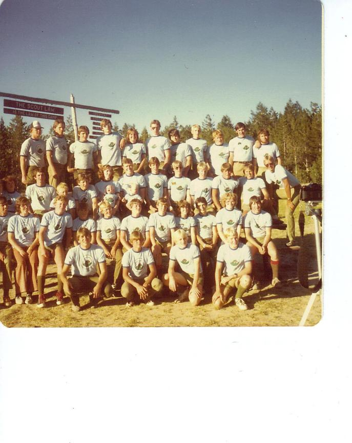 BARTLETT CAMP STAFF 1981