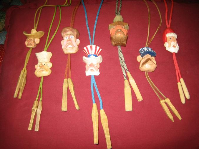 BOLO TIES BY BURCH AND REED