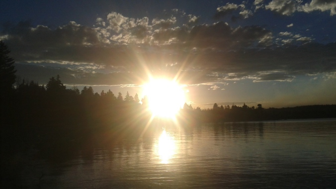 sunset-over-the-lake