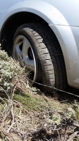 WRECKED TIRE BY TALLIN