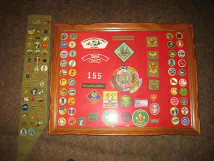 kevin-award-frame-and-merit-badges